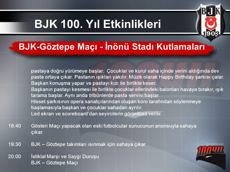 BJK-Göztepe Maçı - İnönü Stadı Kutlamaları