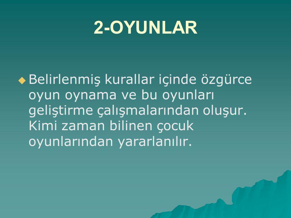 2-OYUNLAR
