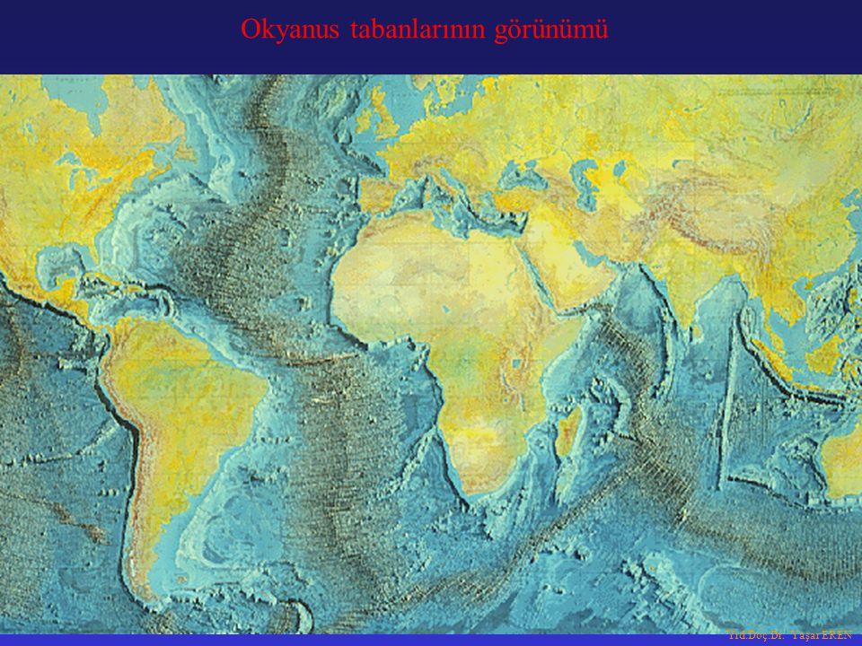 Okyanus tabanlarının görünümü