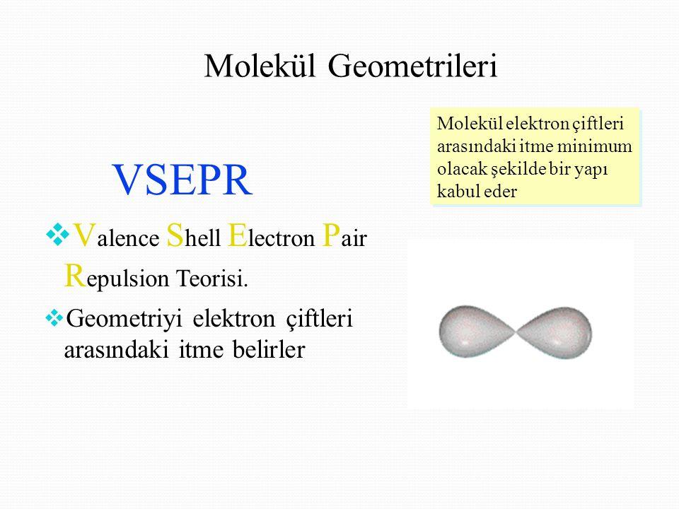 VSEPR Molekül Geometrileri