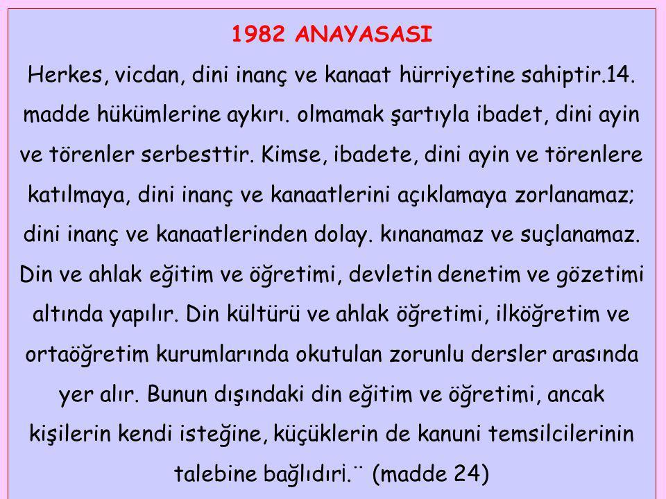 1982 ANAYASASI