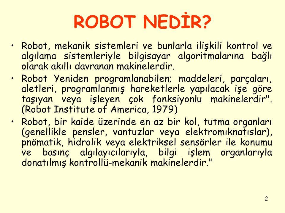 ROBOT NEDİR