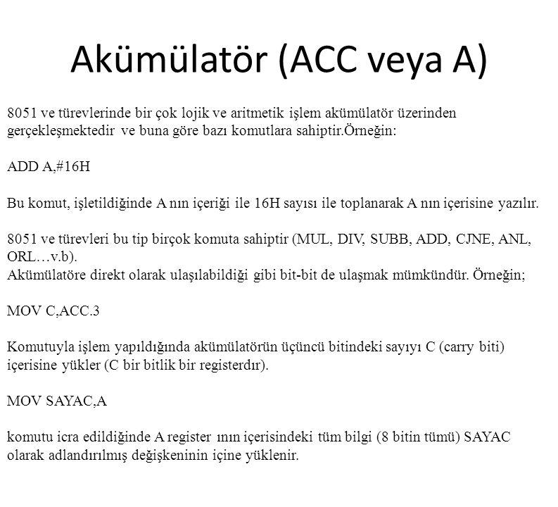 Akümülatör (ACC veya A)