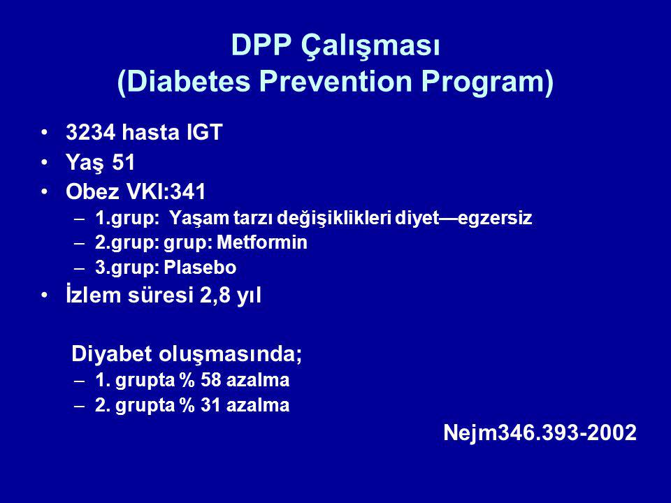 DPP Çalışması (Diabetes Prevention Program)