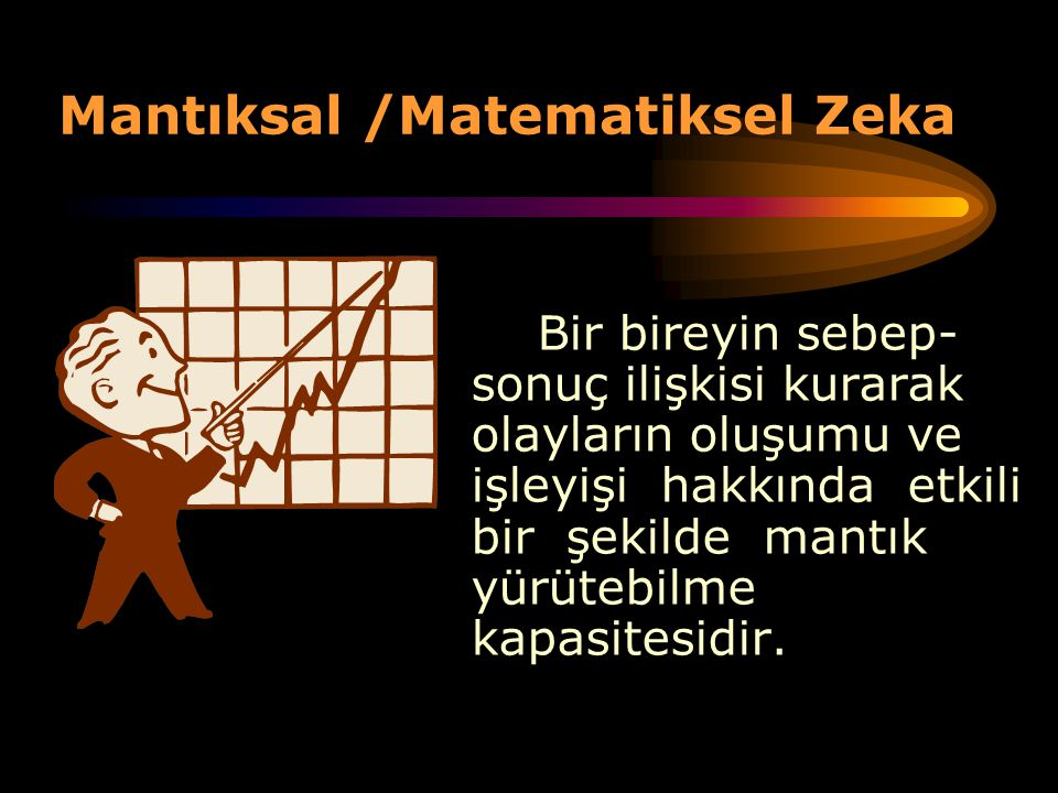 Mantıksal /Matematiksel Zeka