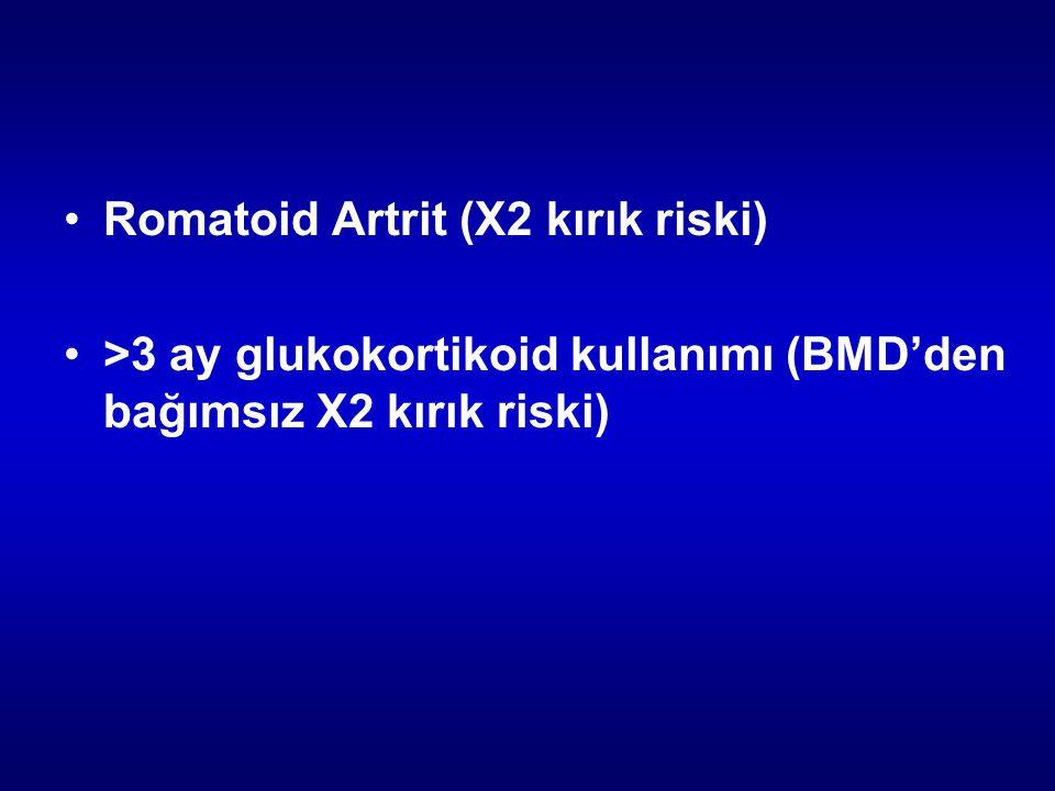 Romatoid Artrit (X2 kırık riski)
