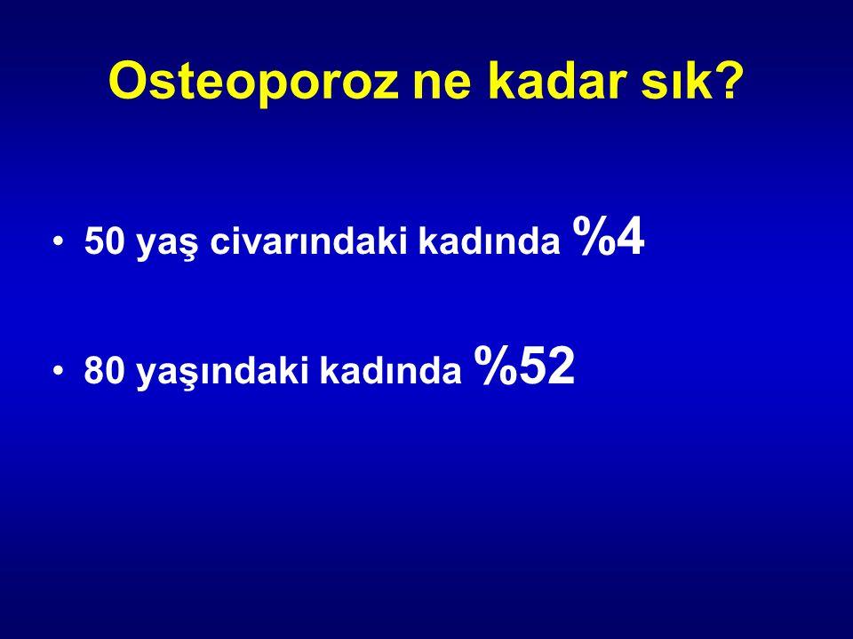 Osteoporoz ne kadar sık