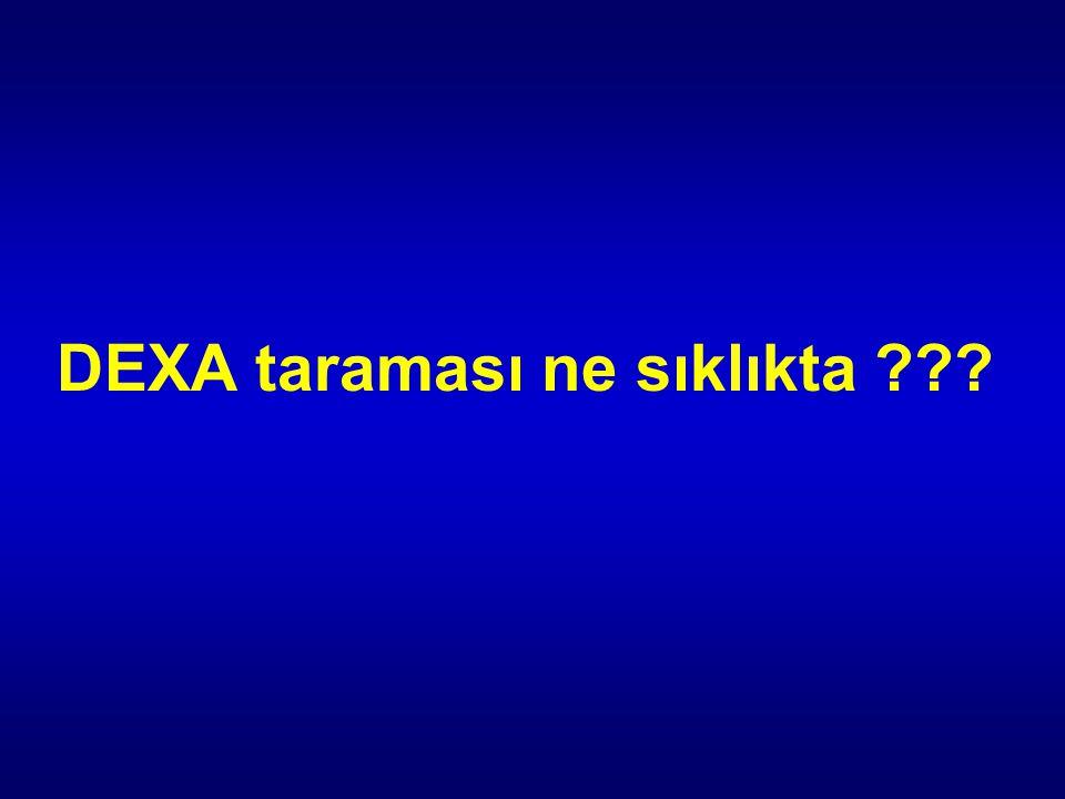 DEXA taraması ne sıklıkta