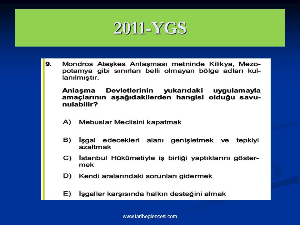 2011-YGS www.tariheglencesi.com
