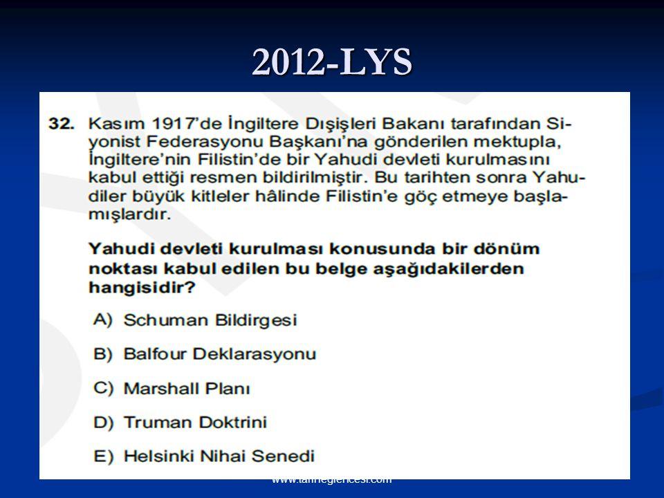 2012-LYS www.tariheglencesi.com