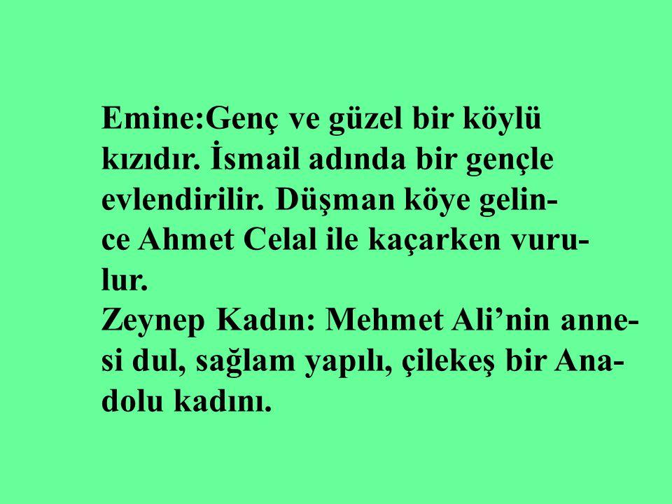 Emine:Genç ve güzel bir köylü
