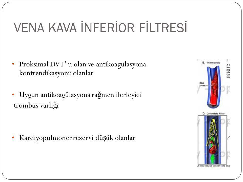 VENA KAVA İNFERİOR FİLTRESİ
