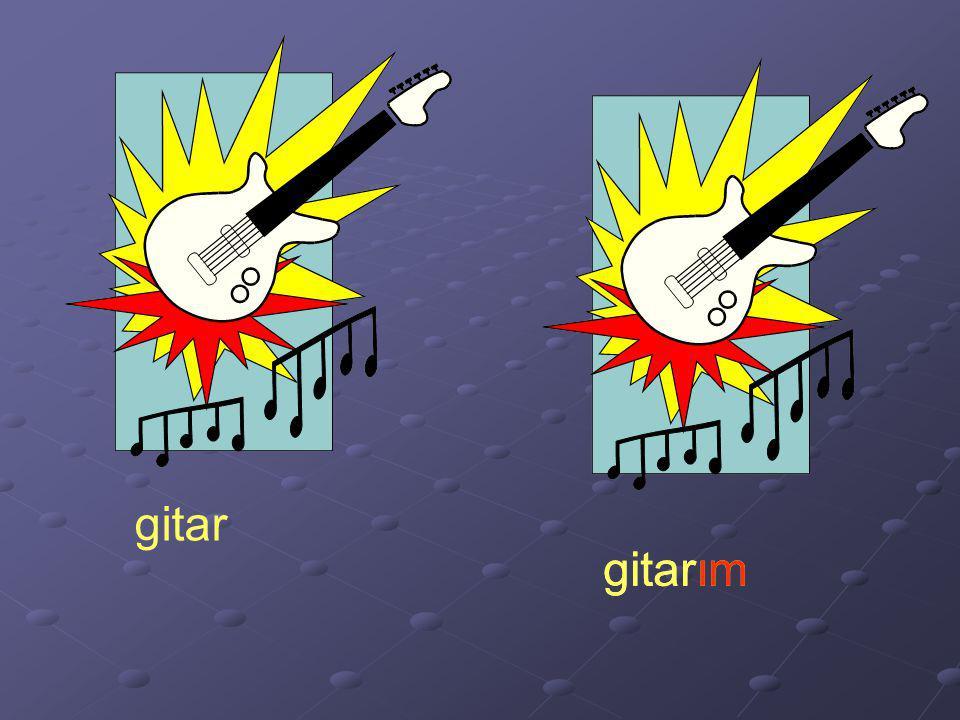 gitar gitarım gitarım