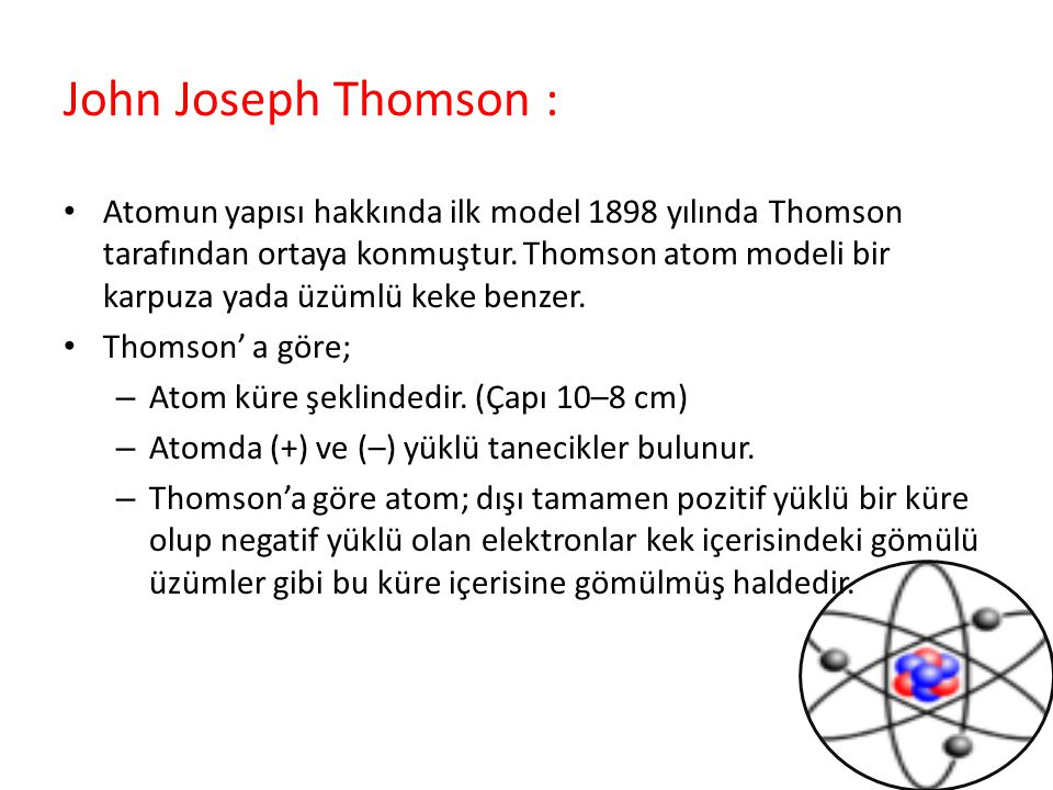 John Joseph Thomson :