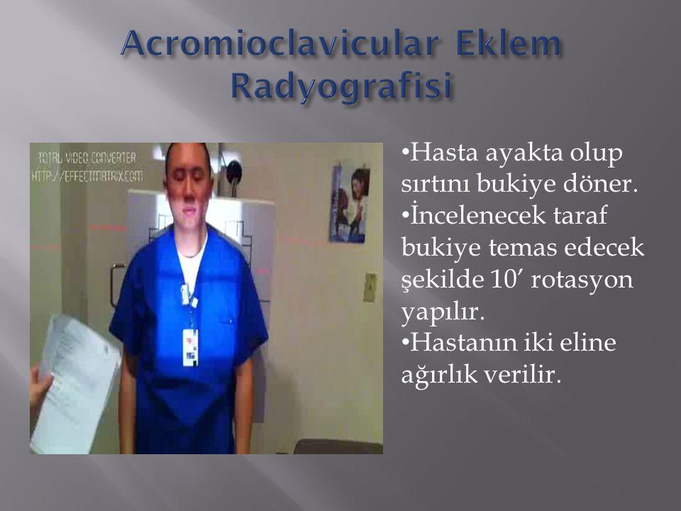 Acromioclavicular Eklem Radyografisi