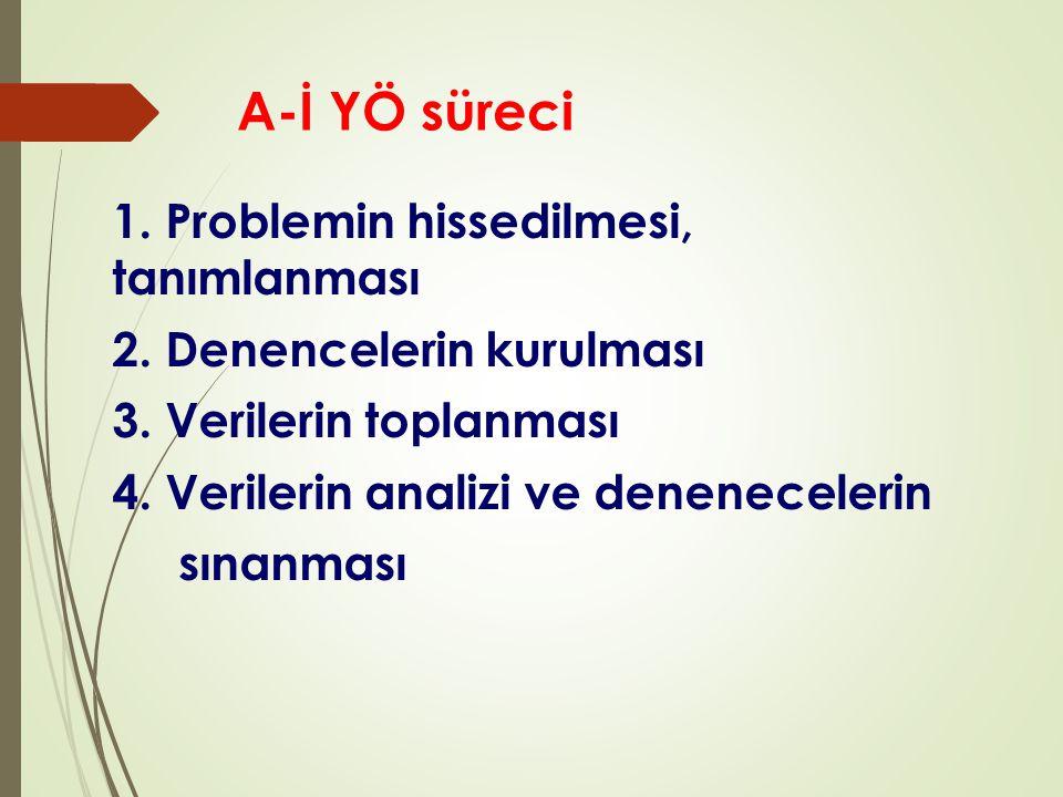 A-İ YÖ süreci