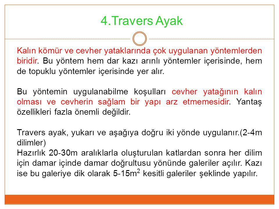 4.Travers Ayak