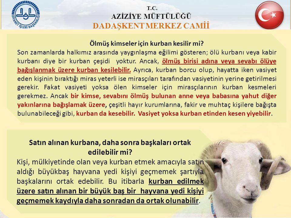 DADAŞKENT MERKEZ CAMİİ