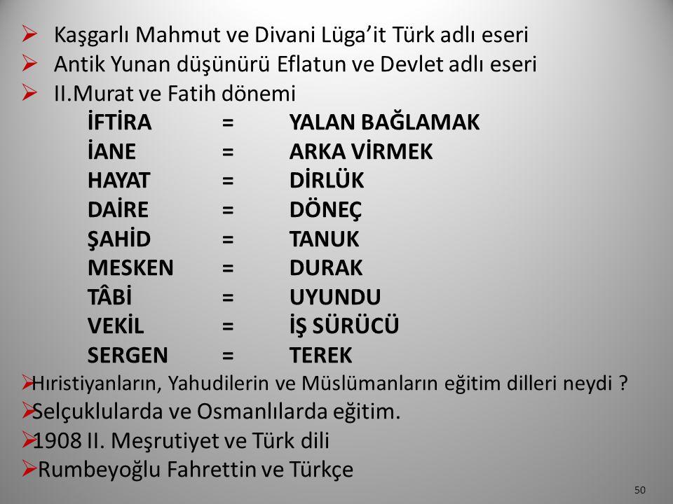 Kaşgarlı Mahmut ve Divani Lüga'it Türk adlı eseri