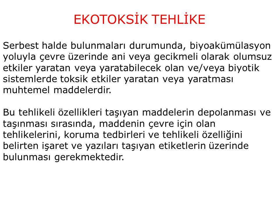 EKOTOKSİK TEHLİKE