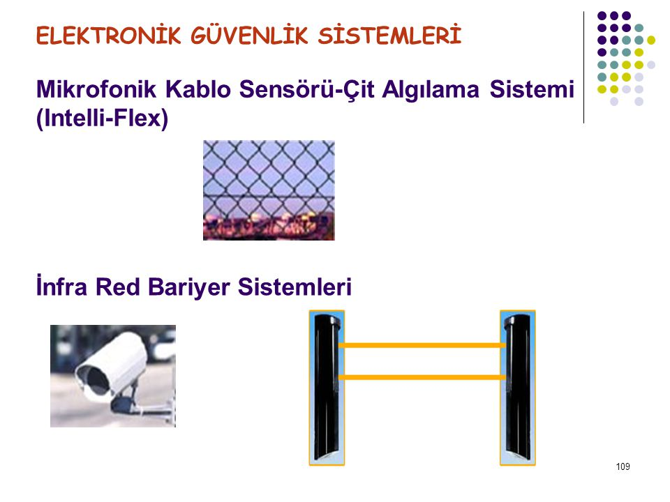 Mikrofonik Kablo Sensörü-Çit Algılama Sistemi (Intelli-Flex)