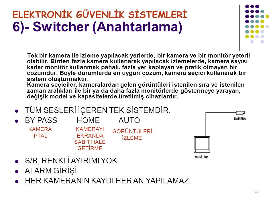 6)- Switcher (Anahtarlama)