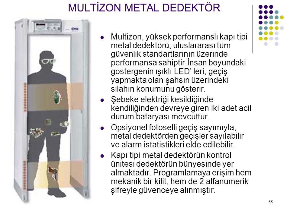 MULTİZON METAL DEDEKTÖR