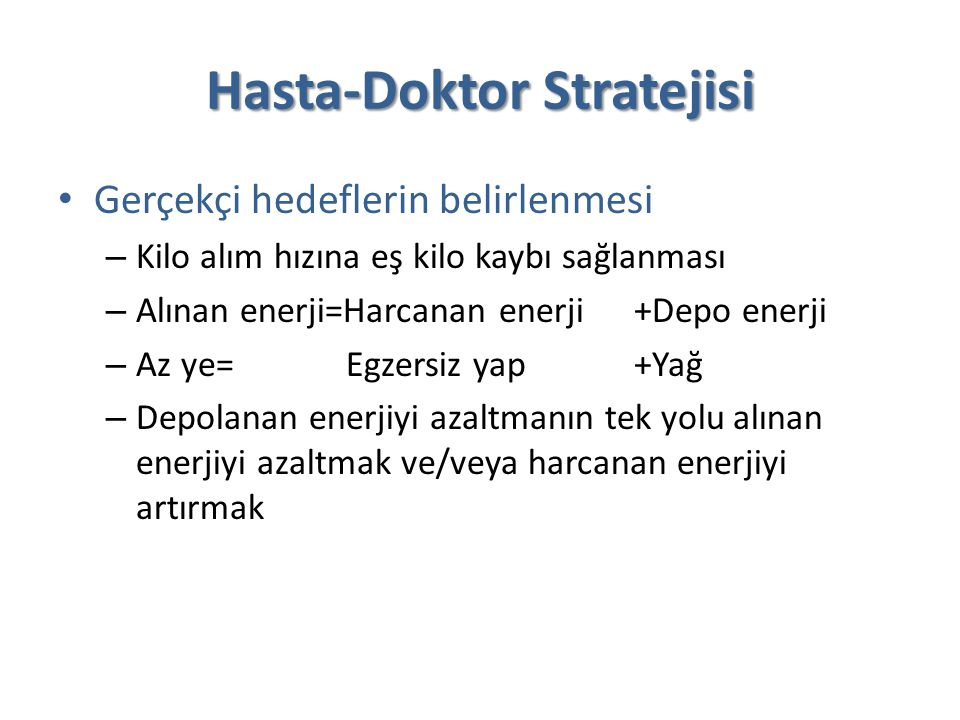 Hasta-Doktor Stratejisi