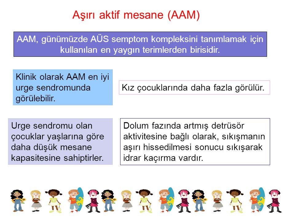 Aşırı aktif mesane (AAM)