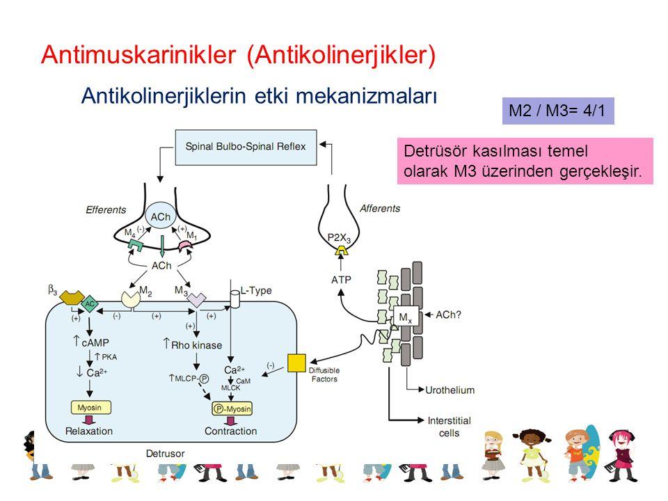 Antimuskarinikler (Antikolinerjikler)