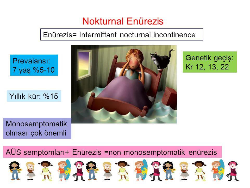 Nokturnal Enürezis Enürezis= Intermittant nocturnal incontinence
