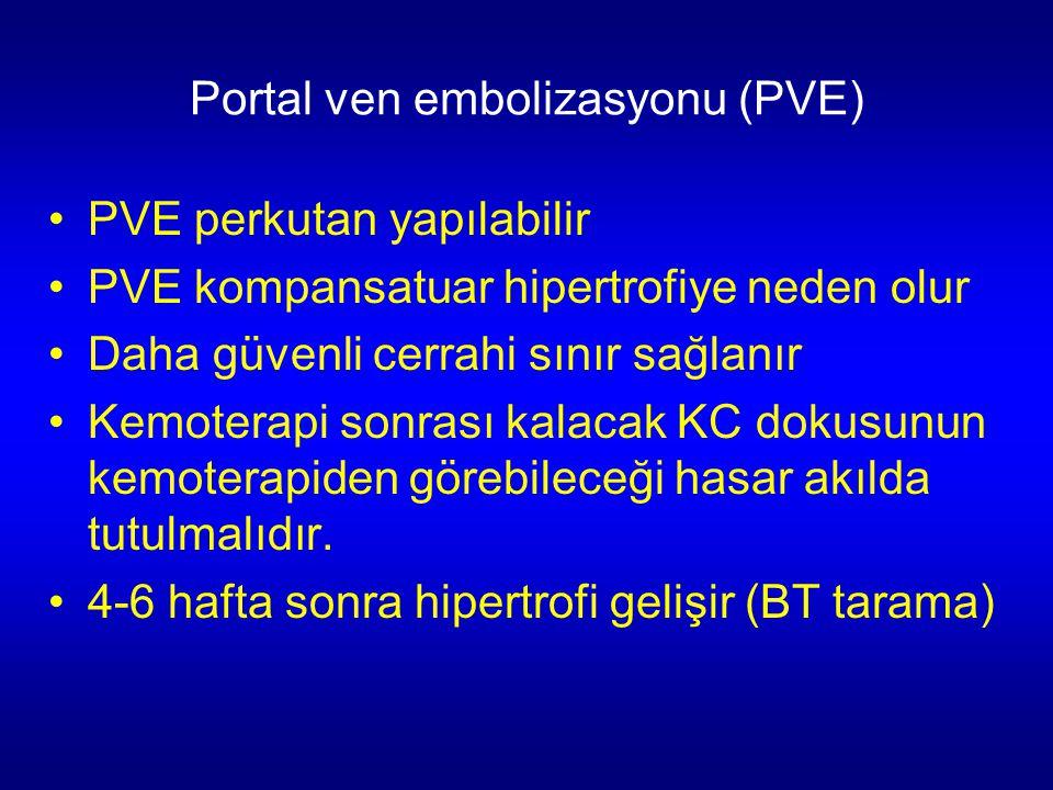 Portal ven embolizasyonu (PVE)