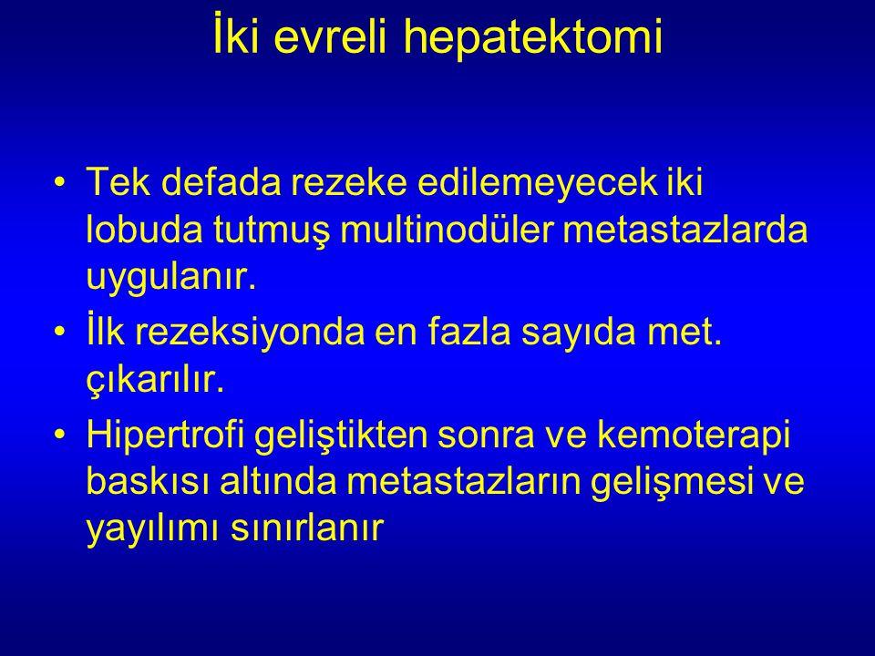 İki evreli hepatektomi