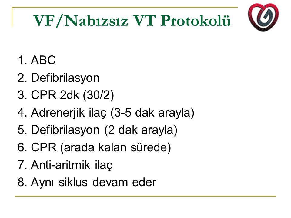 VF/Nabızsız VT Protokolü