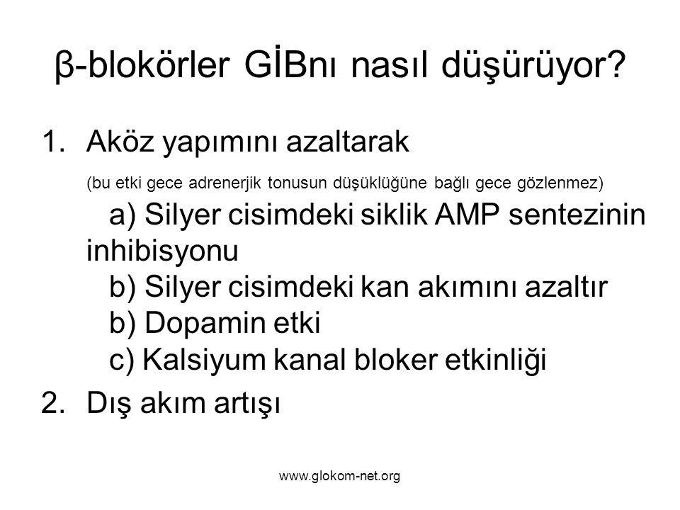 β-blokörler GİBnı nasıl düşürüyor
