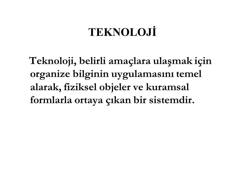 TEKNOLOJİ