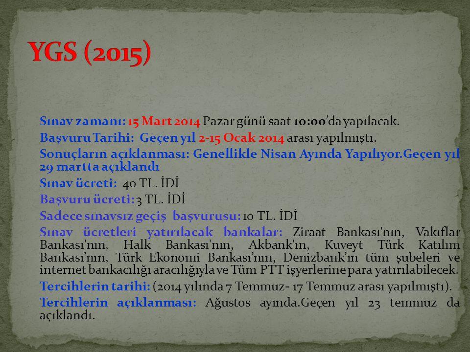 YGS (2015)