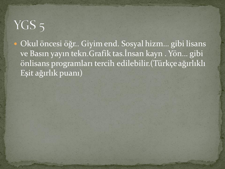 YGS 5