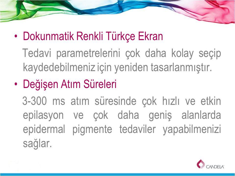 Dokunmatik Renkli Türkçe Ekran