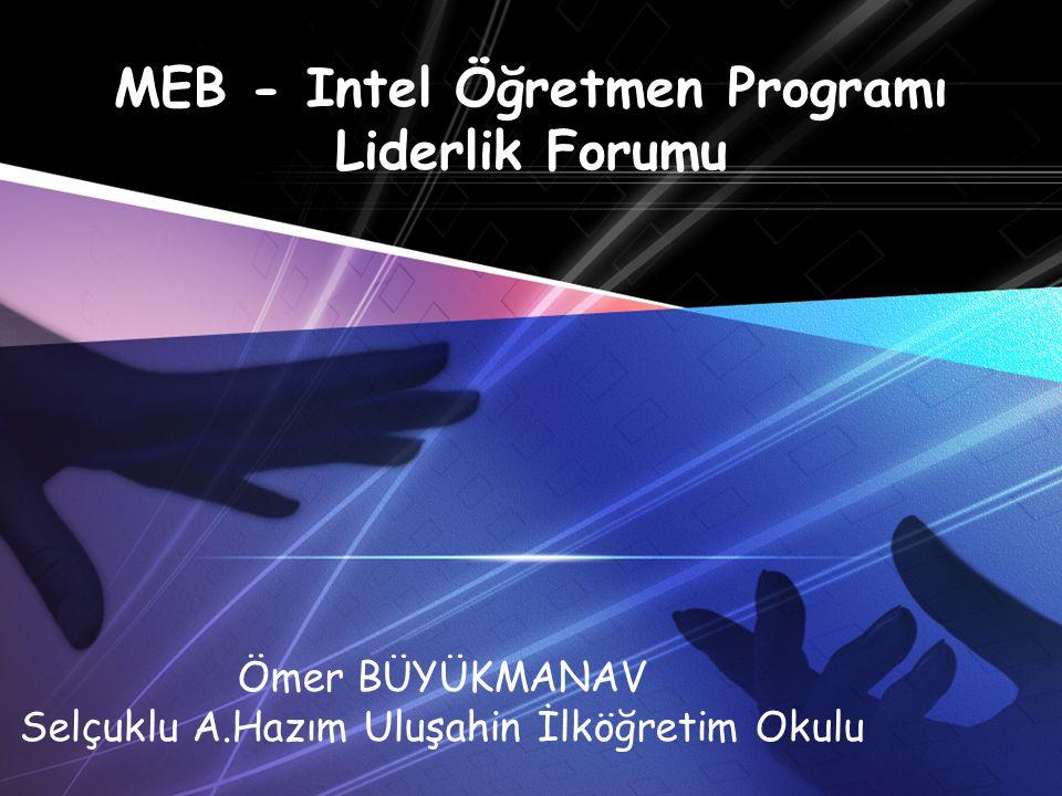 MEB - Intel Öğretmen Programı