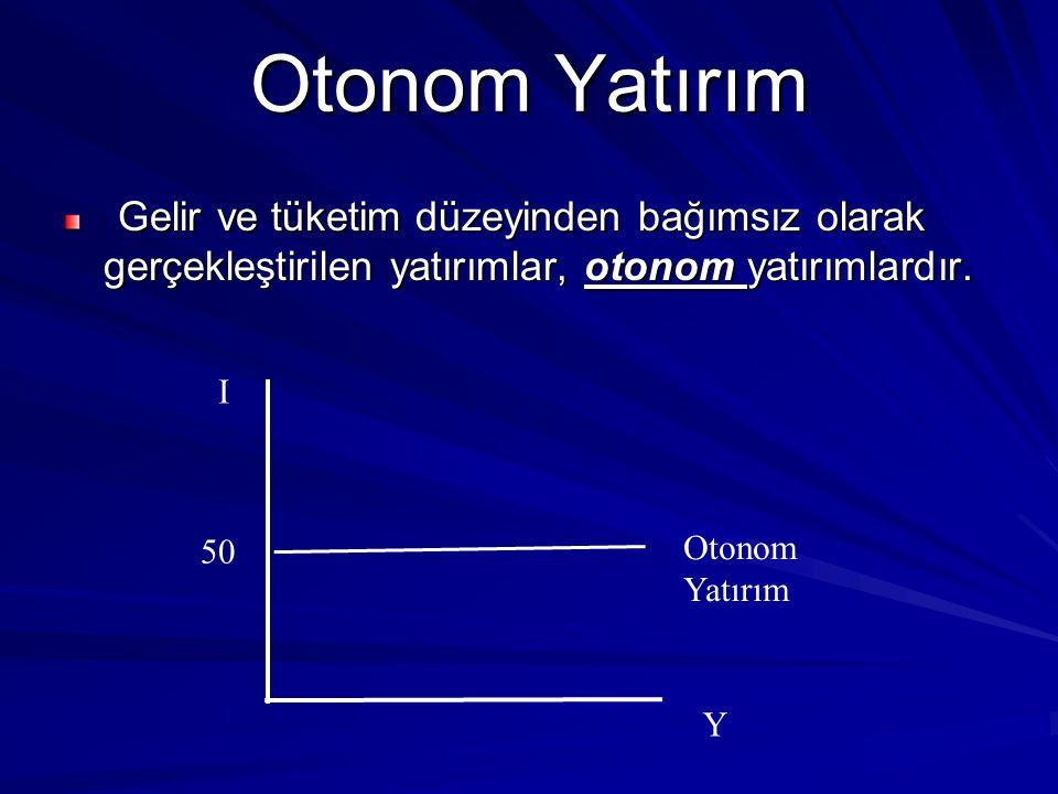 Otonom Yatırım I Otonom Yatırım 50 Y