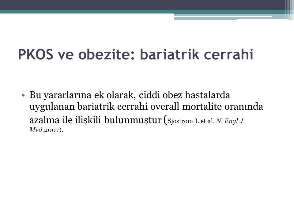 PKOS ve obezite: bariatrik cerrahi
