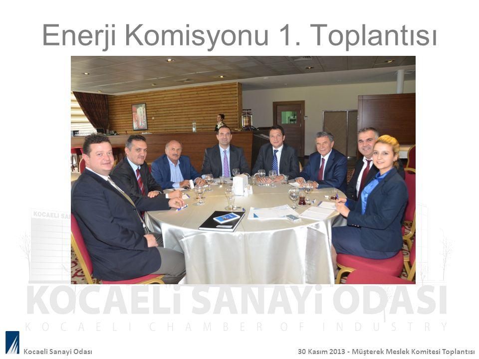 Enerji Komisyonu 1. Toplantısı