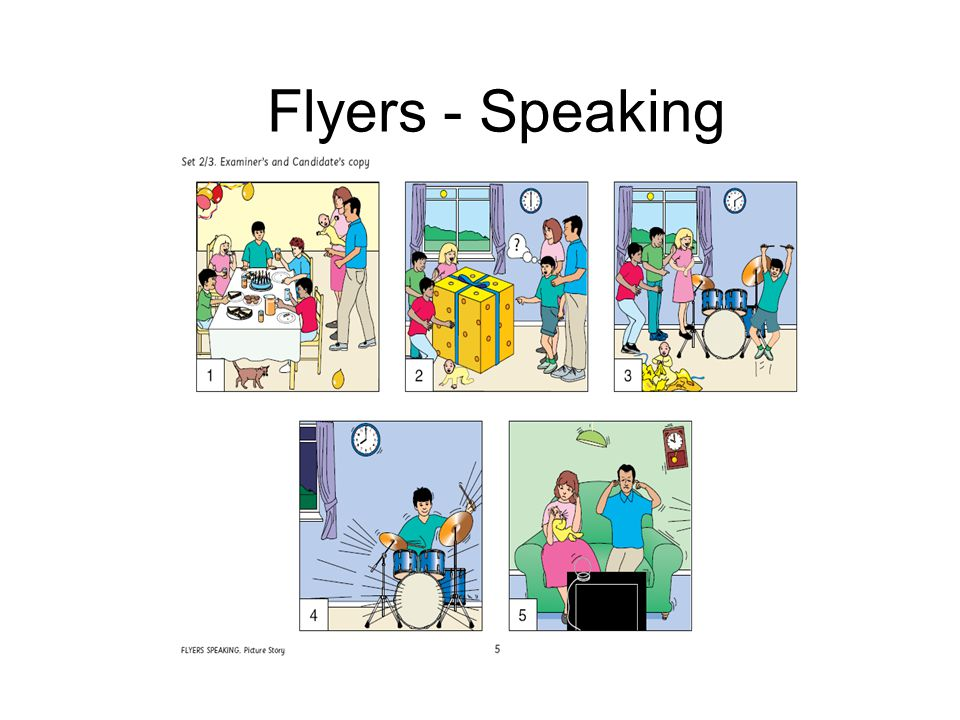 Flyers - Speaking