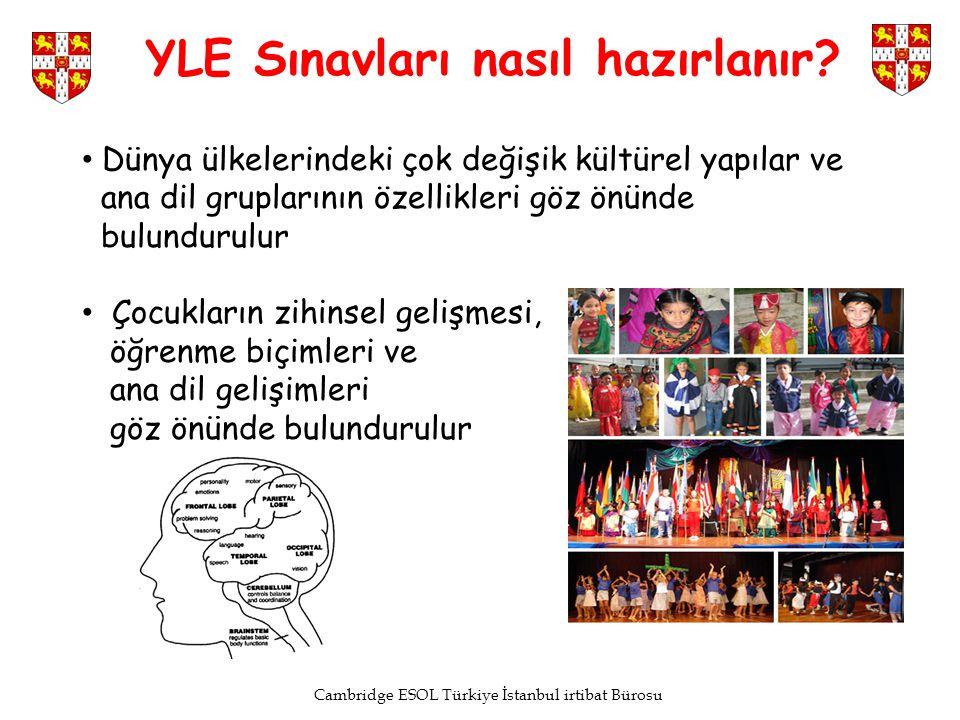 Cambridge ESOL Türkiye İstanbul irtibat Bürosu