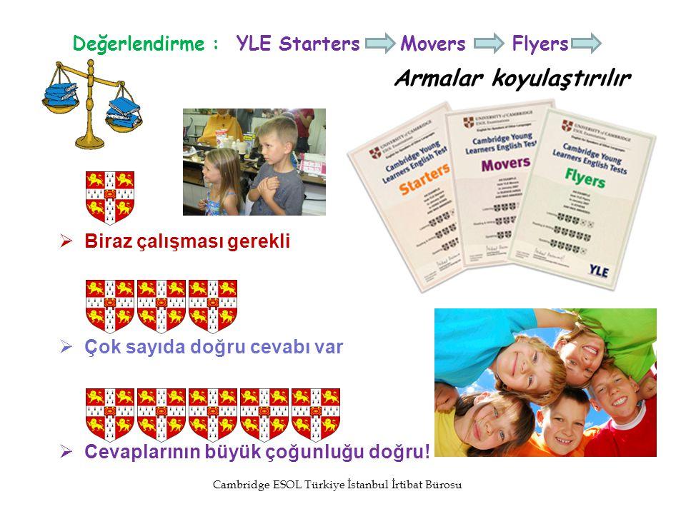 Değerlendirme : YLE Starters Movers Flyers