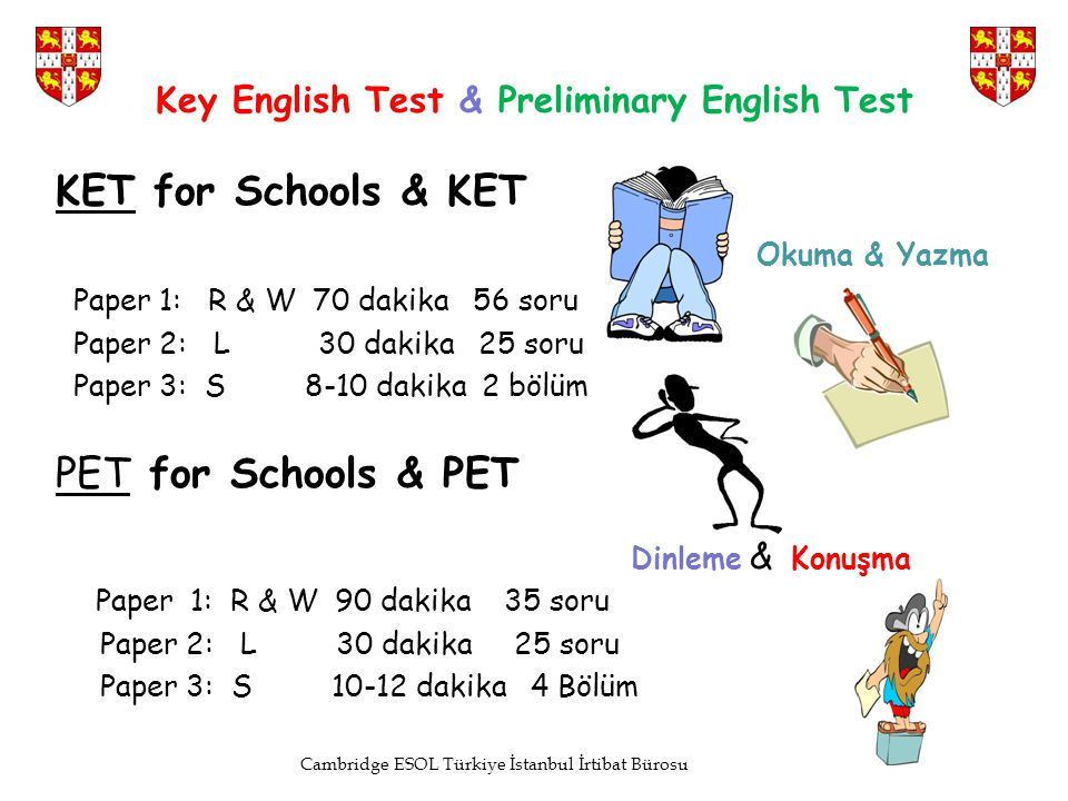 Key English Test & Preliminary English Test