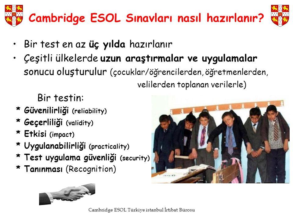 Cambridge ESOL Sınavları nasıl hazırlanır