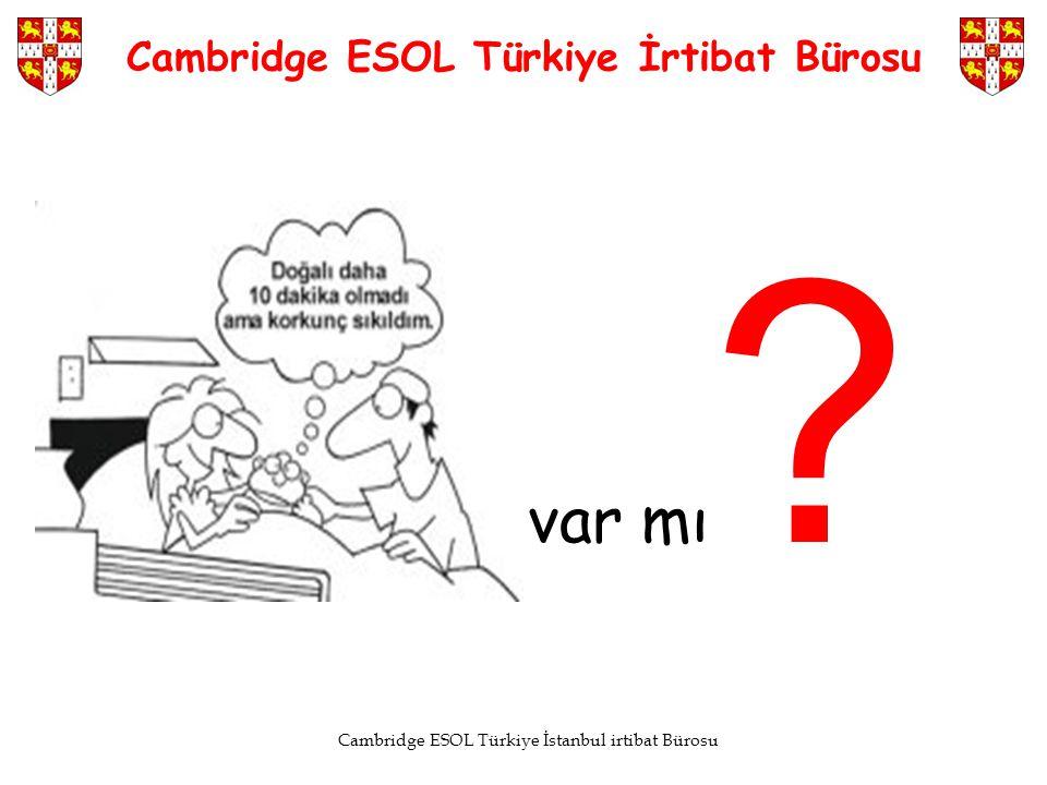 Cambridge ESOL Türkiye İrtibat Bürosu
