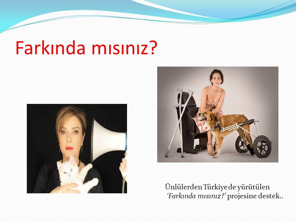 Farkında mısınız Ünlülerden Türkiye de yürütülen